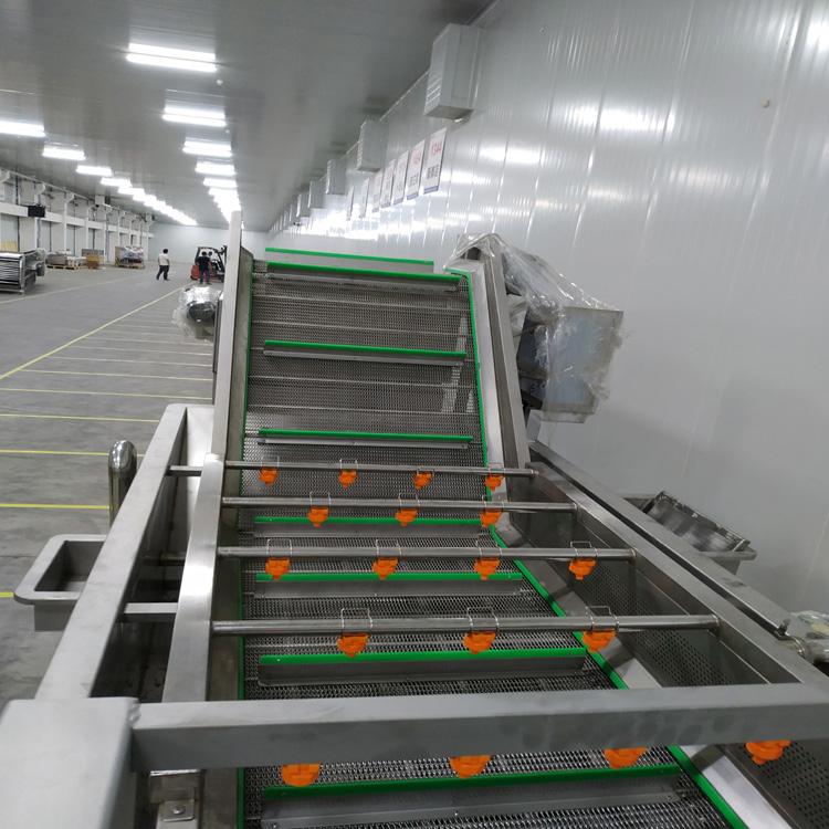 驰远新型玉米清洗机器 多功能气泡清洗机设备